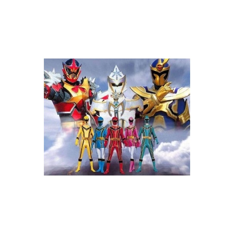 Power Rangers Forca Mistica Versao Economica
